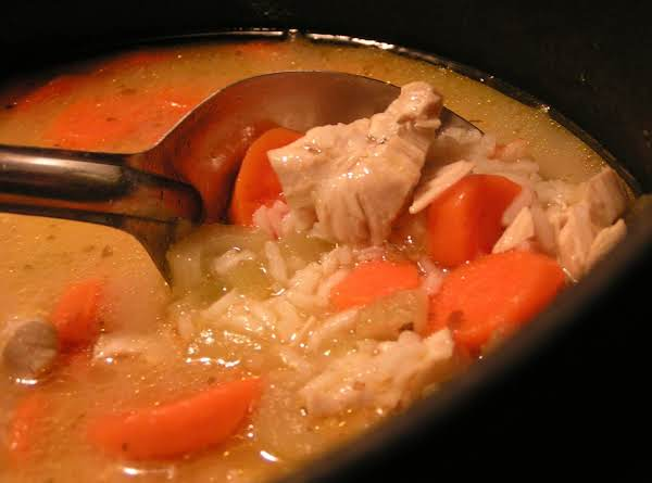 Chicken And Rice Soup - Dee Dee's