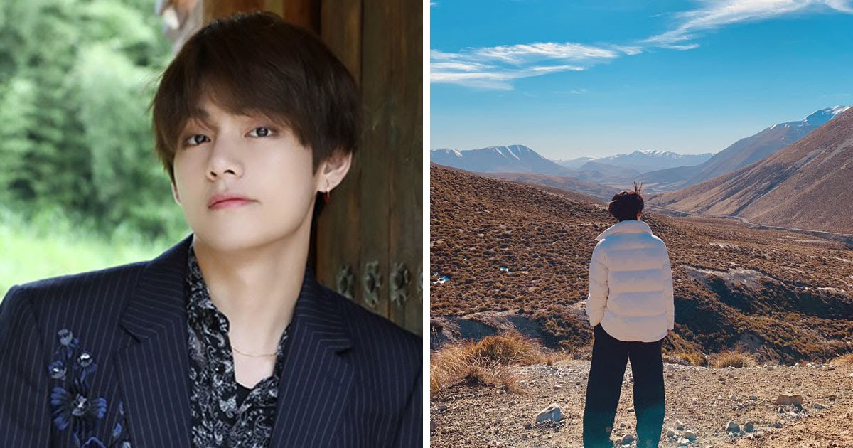 V Shares New Photos From Bts S Filming In New Zealand