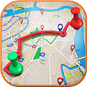 Best Route Finder Gps icon