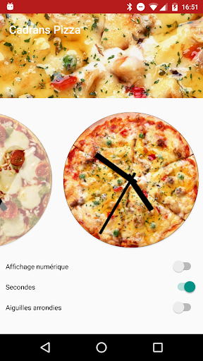 Pizza WatchFaces
