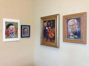 Photo: Apr. 2013 Weissman Ctr - Sher Artwork exhibit