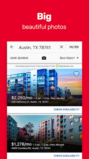 Realtor.com Rentals: Apartment, Home Rental Search 3.9.0 Screenshots 7