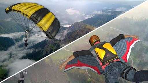 Wingsuit Simulator 3D - Skydiving Game  screenshots 3