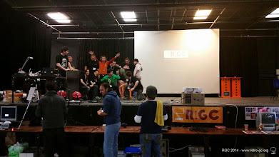 Photo: L'équipe RGC se déchaine pour la fin de la RGC 2014 !