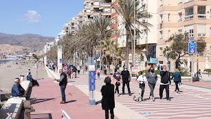 Imagen de archivo del Paseo Marítimo de la capital.