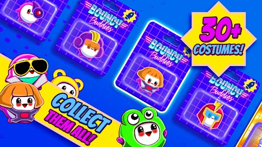 Bouncy Buddies MOD (Unlimited Gold Coins) 3