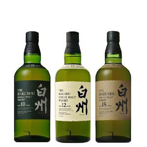 Suntory Hakushu  single malt cask 10 12 18 bourbon sherry whisky julhès