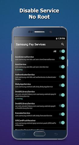 BK Package Disabler (Samsung) Screenshot