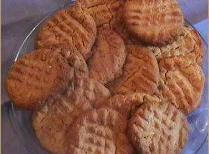 Whole Wheat Orange Peanut Butter Cookies