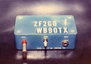 Photo: One Watt 20 Mtr QRP X-mitr
