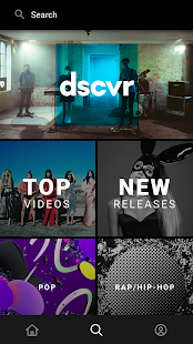 Vevo - Music Player & HD Music Video Streaming – уменьшенный скриншот