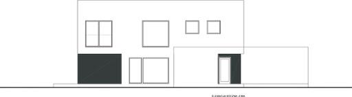 Wyważony D29 - Elewacja lewa