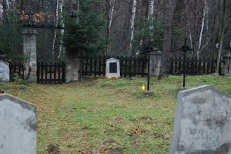 Photo: Cmentarz nr 304 Łąkta Górna Mogiła Theodora Clevena w 94 rocznicę śmierci 7-12-2008