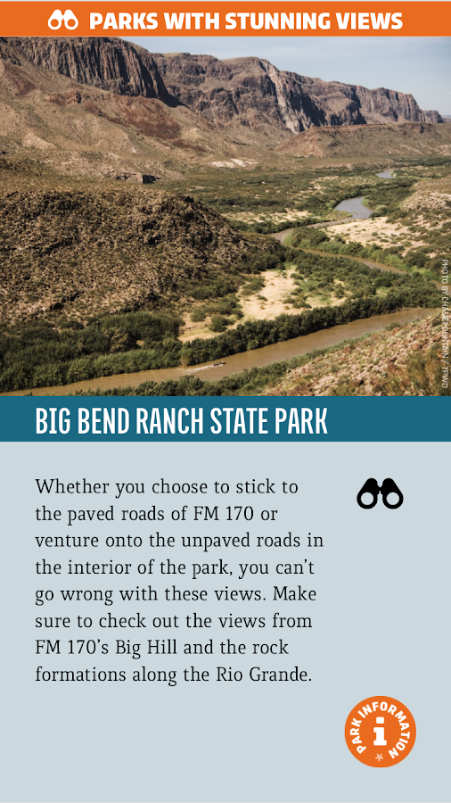 TX Parks & Wildlife magazine- screenshot