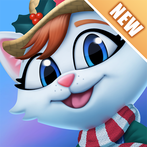 Kitty City: Kitty Cat Farm Simulation Game Icon