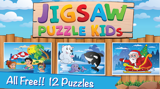 Jigsaw Magic Puzzle Child kids