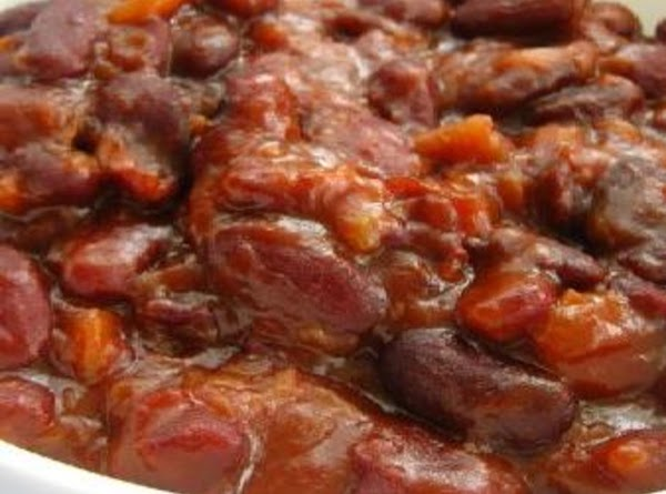 Sweet And Hot Beefy Baked Beans Recipe