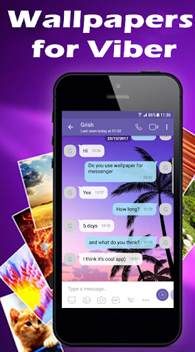 Wallpapers for Viber Messenger and Chat Apk 2