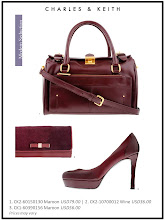 Photo: Autumn'12 Style 3 Carry these luxuriously hued investment pieces to complement any wardrobe   Visit your nearest store or CharlesKeith.com to find out more