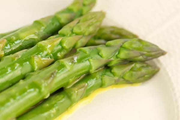 Asparagus With Lemon Butter Recipe