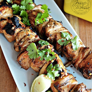 Sriracha, Honey & Lime Chicken Skewers