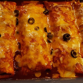 Oven Baked Burrito 'Chiladas