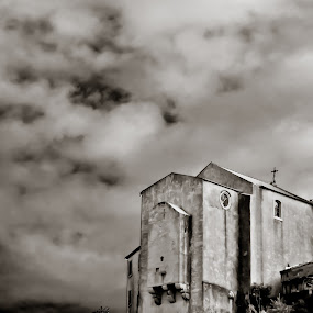 Dark religion by Carlos Cardoso - Buildings & Architecture Places of Worship ( religion, b&w, church, dark )