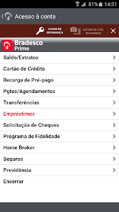 Bradesco Prime- screenshot thumbnail