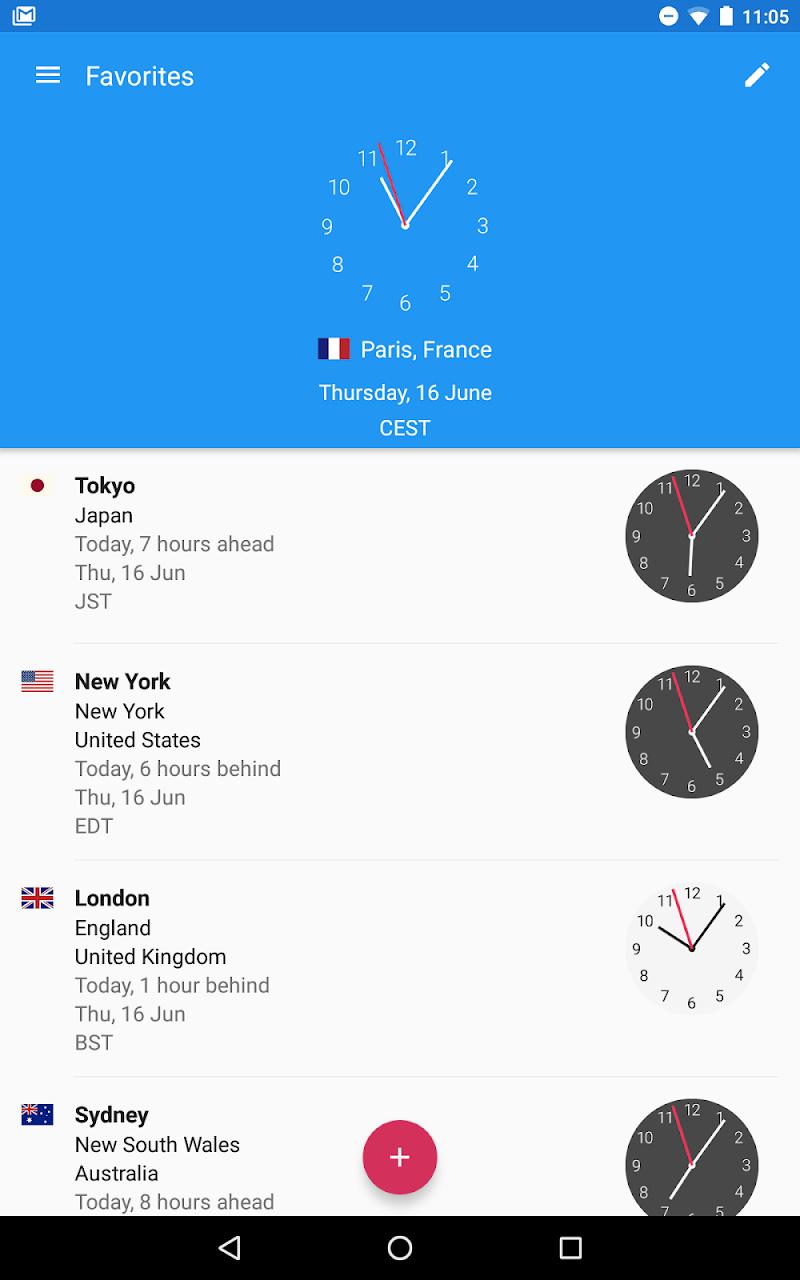 World Clock by timeanddate.com Screenshot 14