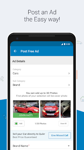 Quikr – Search Jobs, Mobiles, Cars, Home Services screenshot 7