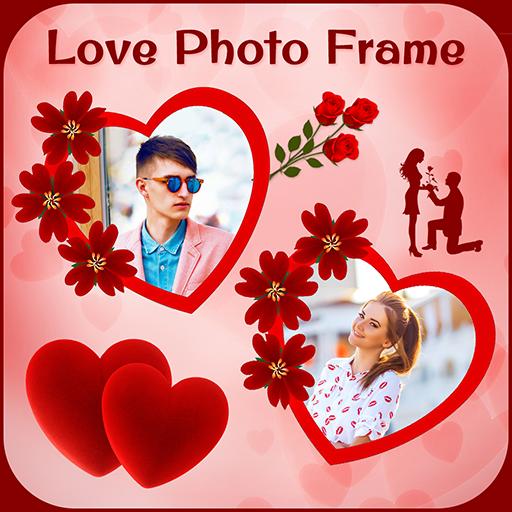 Love Valentine Day Photo Frame