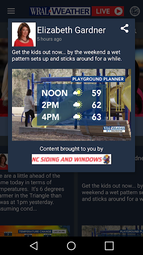 WRAL Weather screenshot 4