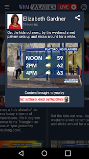 WRAL Weather APK image thumbnail 3