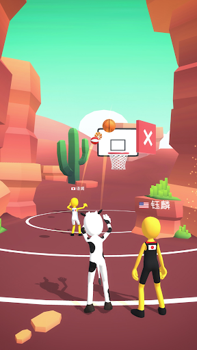 Five Hoops - Basketball Game 17 screenshots 4