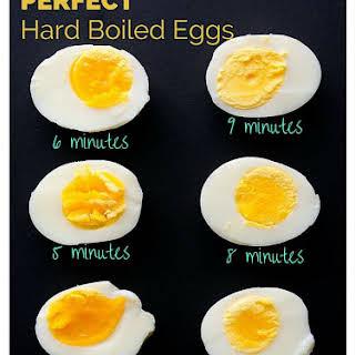 Hard Boiled Eggs Breakfast Healthy Recipes.