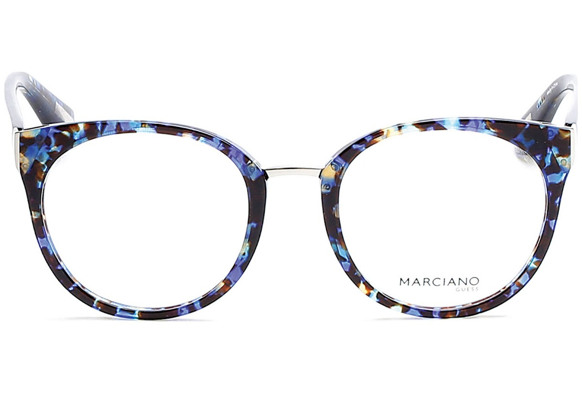 Buy Guess By Marciano GM0285 C52 092 (blue/other / ) Frames | opti ...