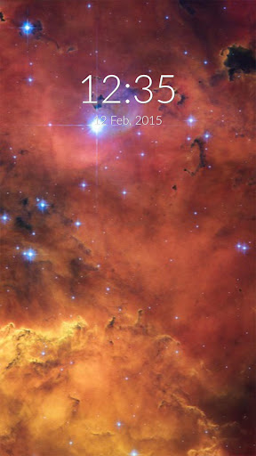 Cosmic Galaxy Wall Lock
