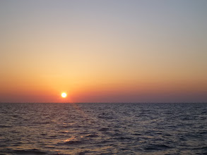 Photo: 日が落ちます。
