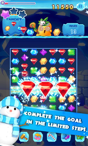 Jewels Mania : Match 3 Puzzle