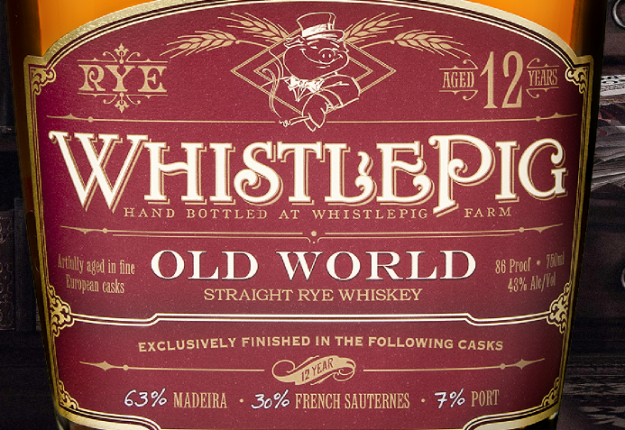 Logo for Whistle Pig 12 Year