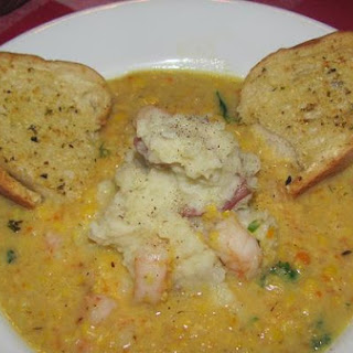 Fresh Corn and Shrimp Chowder