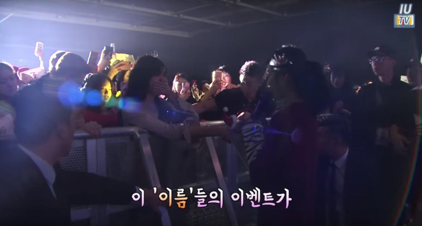 IU akhirnya menemukan penggemar yang merencanakan fan project tersebut (dok. YouTube)