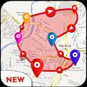 Land Area Measurement - GPS Area Calculator App icon