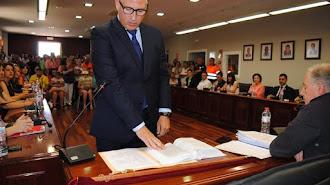 Ismael Torres jura como nuevo alcalde de Huércal de Almería