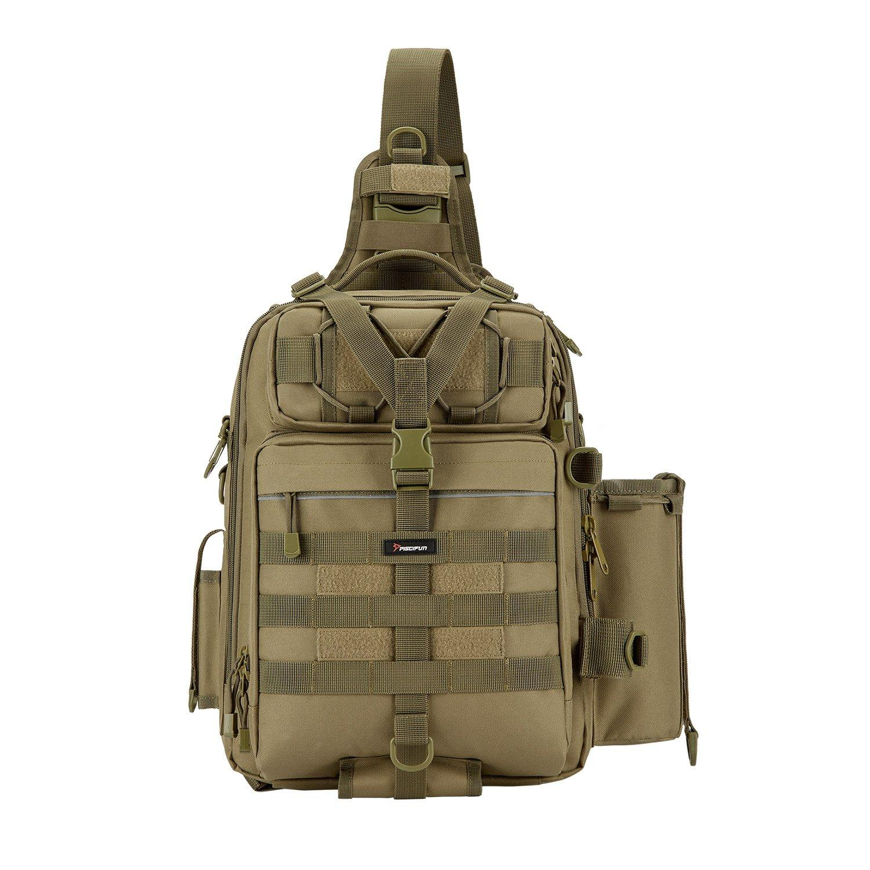 Piscifun® Outdoor Tackle Bag For Fishing Hiking Camping Cycling