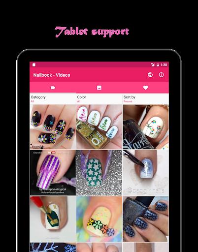 Nailbook - Nail Art Designs Screenshot