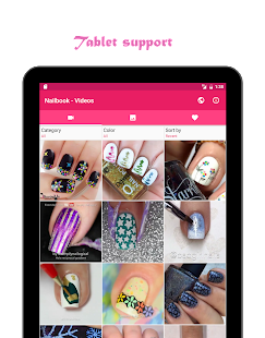 Nailbook nail art designs android apps on google play nailbook nail art designs screenshot thumbnail prinsesfo Images