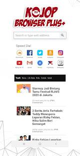 Download Kojop Browser Plus - Anti Blokir For PC Windows and Mac apk screenshot 2