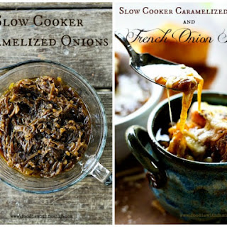 Slow-Cooker Caramelized Onions & French Onion Soup