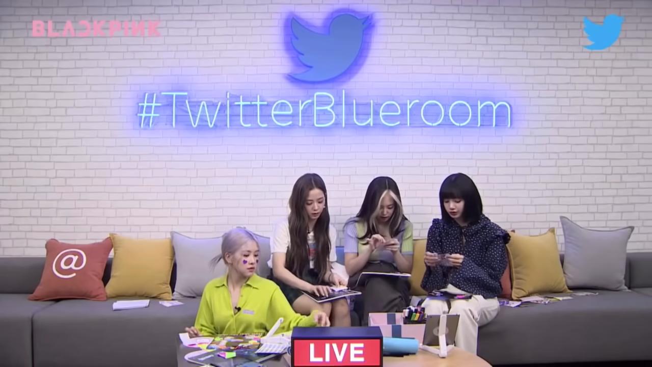 [ENG SUB] BLACKPINK Twitter Blueroom LIVE Full 32-18 screenshot